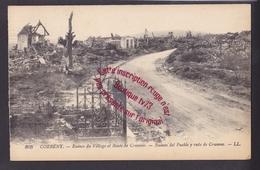 Q0579 - CORBENY Ruines Du Village Et Route De Craonne - Aisne - WW1 - Guerra 1914-18
