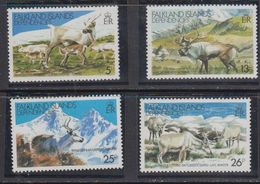 Falkland Islands Dependencies (FID) 1982 Reindeer 4v ** Mnh (41718) - Zuid-Georgia