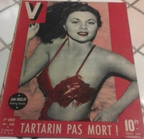 V N°92 Juillet 1946 FBI Edgar J Hoover,Tartarin Affronte La Tarasque, Cavalcade Apt - Books, Magazines, Comics