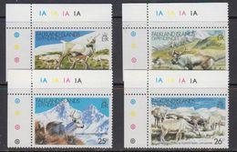 Falkland Islands Dependencies (FID) 1982 Reindeer 4v (corner) ** Mnh (41718A) - Zuid-Georgia