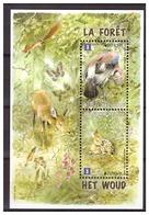 Belgium Belgique 2011 Bird Deer Forest Flowers S/S MNH - Autres