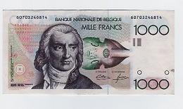 Billet De 1000 Frs Godeau Demanet JAMAIS CIRCULE + 20FB JAMAIS CIRCULE  CLOTURE LE 28 SINON BANQUE NATIONALE - [ 6] Schatzamt