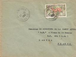 Senegal 1960 Ziguinchor Antilope Cape Bushbuck Tragelaphus Sylvaticus Cover - Senegal (1960-...)