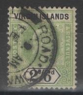 Iles Vierges - Virgin Islands - YT 35 Oblitéré - 1904 - SG 61 - Iles Vièrges Britanniques