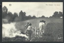 +++ CPA - Ferme - Agriculture - Culture - Attelage Agricole - Aux Champs - Le Labour - Métier    // - Cultures