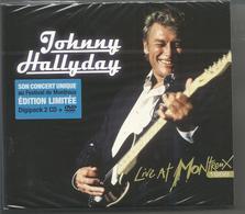 Johnny Hallyday - Live At Montreux 1988 (2CD+DVD Digipack - Tirage Limité) - Editions Limitées