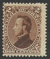 Honduras, 2 C. 1878, Sc # 31, MH. - Honduras