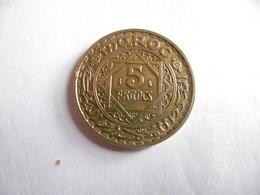 (A251)-MAROC-PIECE DE 5 FRANCS-1365/1946-EMPIRE CHERIFIEN - Maroc