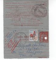 COQ DE DECARIS CARTE PNEUMATIQUE - 1962-65 Cock Of Decaris