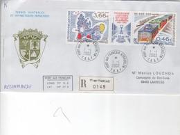 (TAAF) > 2002-09 ---LR N°336/37 KERGUELEN 01-01-2002 - Lettres & Documents