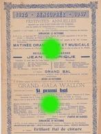 RENOUPREZ CHARNEUX  Herve 1947 - Programmes