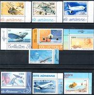 FRANCE - YT PA N° 61a à 70a - Neufs ** - MNH - Cote: 146,50 € - Airmail