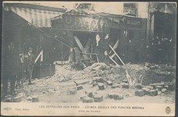 Les Zeppelins Sur PARIS -Effet De Bombe - Autres