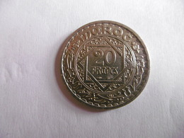 (A251)-MAROC-PIECE DE 20 FRANCS-1366/1947-EMPIRE CHERIFIEN - Maroc