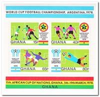 Ghana 1978, Postfris MNH, Football - Ghana (1957-...)