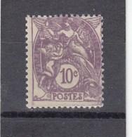 Type Blanc - 1927/31 - YT N°233** 10c Violet - France
