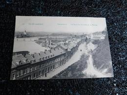 Val St-Lambert, Panorama, La Rue Des Rixhes Et La Meuse, Non Circulée  (U6) - Seraing