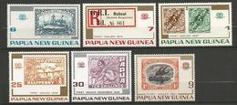 PAPOUASIE NOUV GUINEE N° 253 à 258 NEUF** LUXE SANS CHARNIERE / MNH - Papoea-Nieuw-Guinea