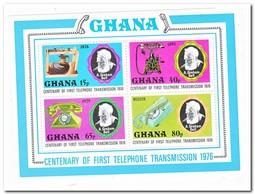 Ghana 1976, Postfris MNH, 100 Years Telephone - Ghana (1957-...)