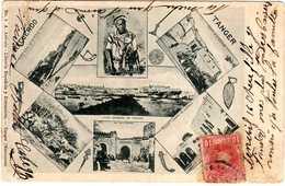 TANGER-- 442-  Recuerdo De Tanger. 1904. - Tanger