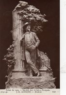 Sculpture. Littérature. J.-G. Achard. Statue Du Poète Frédéric Mistral. - Sculptures