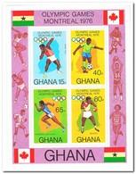 Ghana 1976, Postfris MNH, Olympic Games - Ghana (1957-...)