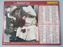 Almanach Du Facteur 2006 Recto  Couple D'enfantst Verso Couple D'enfants - Calendriers