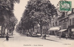 08. CHARLEVILLE . ANIMATION  COURS D'ORLEANS. ANNEE 1924 - Charleville
