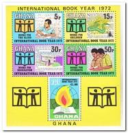 Ghana 1972, Postfris MNH, International Year Of The Book - Ghana (1957-...)