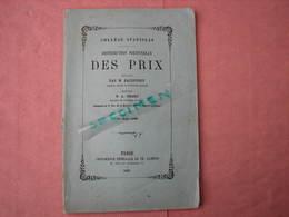 Collége Stanislas 10 Aout 1869  Distribution Des Prix  144 Pages 155X235 TBE - Diplômes & Bulletins Scolaires