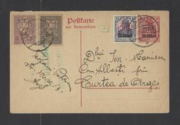 ROUMANIE.  Entiers Postaux   Occupation Allemande  1917 - Ganzsachen