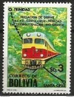Bolivia - 1980 Sta Cruz-Trinidad Railway MNH **   Sc 656 - Bolivia
