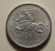 Lithuania 2 Litu 1925 Silver - Lithuania