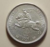 Lithuania 5 Litai 1925 Silver - Lithuania