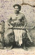 Archipel Fidji - Fiji Océanie - Un Chef Fidjien En Ciostume De Guerre - Guerrier Warrior Chief - Belle Animation - Fidji
