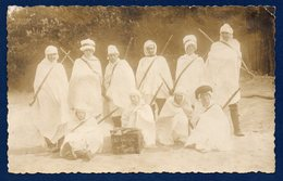Ethiopie. Carte-photo.  Commando De 10 Soldats Au Pays Du Négus - Ethiopie