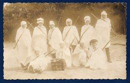 Ethiopie. Carte-photo.  Commando De 10 Soldats Au Pays Du Négus - Ethiopia