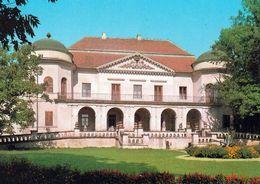 1 AK Slowakei * Das Schloss In Der Stadt Michalovce - Rückseite Mit Informationen Zum Schloss Bedruckt - Siehe Scan * - Slovaquie