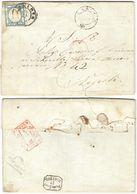 A127) A.S.I. PROVINCE NAPOLETANE 1861 - LETTERA CON 2 GRANA - Napoli