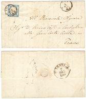 A314) A.S.I. PROVINCE NAPOLETANE 1861 - LETTERA CON 2 GRANA - Napoli