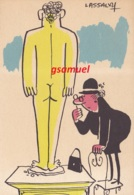Illustrateur LASSALVY - Observation  (voir Scan). - Lassalvy