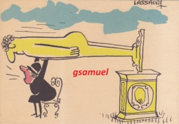 Illustrateur LASSALVY - Colère  (voir Scan). - Lassalvy