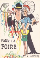 Illustrateur LASSALVY - Faire La Foire  (voir Scan). - Lassalvy