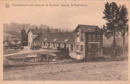 Etablissement Des Sources De Bousval , Source  St  Barthelemy  ,eau Minérale Naturelle ( Genappe ) - Genappe