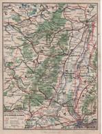 CARTE DE FRANCHISE MILITAIRE NEUVE  N° 6 VOSGES  T ALSACE  CARTE DU FRONT - Guerre 1914-18