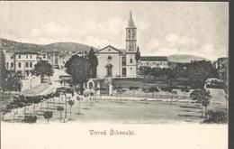 ŠIBENIK VAROŠ, DALMAZIEN, HRVATSKA CROATIA, PC,uncirculated - Kroatien