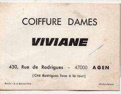 Agen (47 Lot Et Garonne) Lcalendriern 975 Coiffure VIVIANE  (PPP16897) - Calendriers