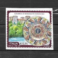 Italia 2017 Ceramica Di Montelupo Fiorentino. Valore Usato - 6. 1946-.. Repubblica
