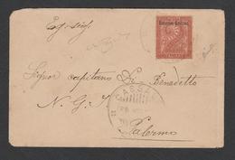 Eritrea Italiana 1893/1899 - 2 Cent. Isolato Su Busta - Sassone N.2 - Marcofilía