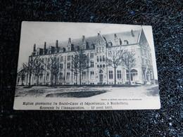église Provisoire Du Sacré-coeur Et Dépendances, à Koekelberg, Souvenir De L'inauguration, 10 Avril 1905, Non Cir   (V6) - Koekelberg